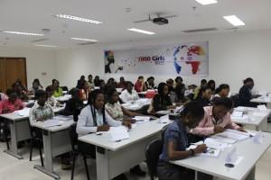 1000 Girls ICT Training Class-1